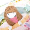 Kartka ręcznie robiona na narodziny dziecka 15