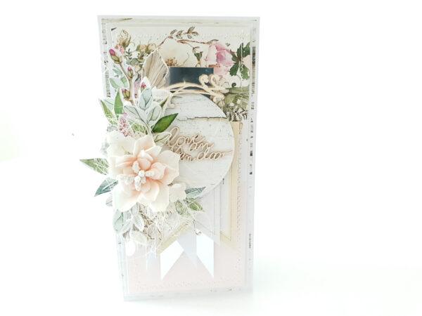 Kartka ręcznie robiona na Walentynki 11