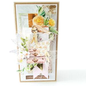 Kartka ręcznie robiona na Walentynki 10