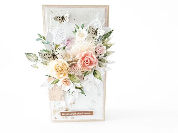 Kartka ręcznie robiona na Walentynki 12