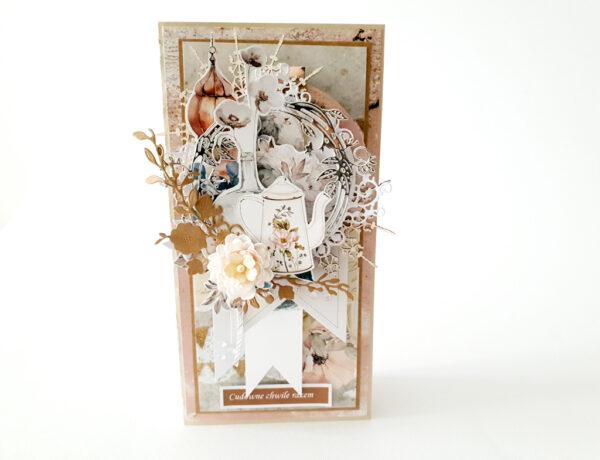 Kartka ręcznie robiona na Walentynki 6