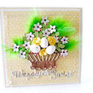 Kartka ręcznie robiona na Wielkanoc 39
