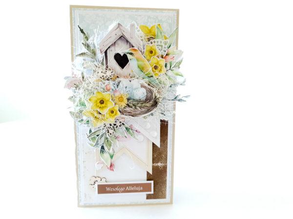 Kartka ręcznie robiona na Wielkanoc 34
