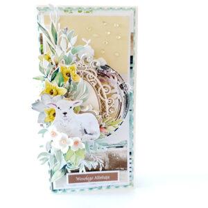 Kartka ręcznie robiona na Wielkanoc 9