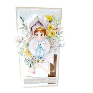 Kartka ręcznie robiona na urodziny dziecka 4