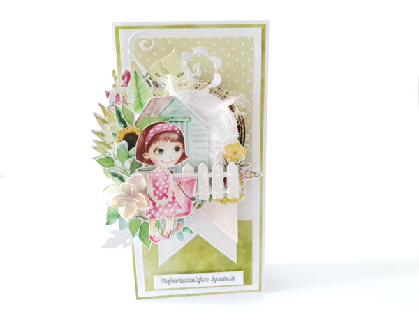 Kartka ręcznie robiona na urodziny dziecka 15