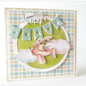 Kartka ręcznie robiona na Narodziny Dziecka 23