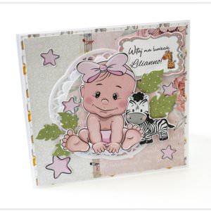 Kartka ręcznie robiona na Narodziny Dziecka 10