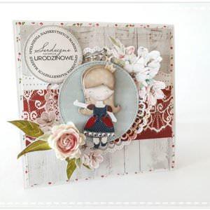 Kartka ręcznie robiona na urodziny dziecka 30