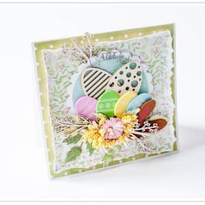 Kartka ręcznie robiona na Wielkanoc 30