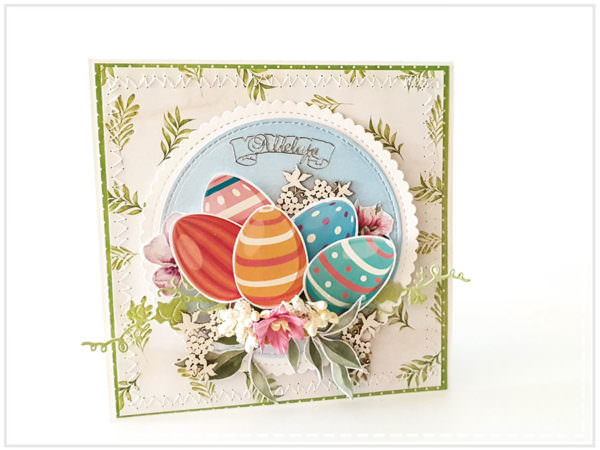 Kartka ręcznie robiona na Wielkanoc 37