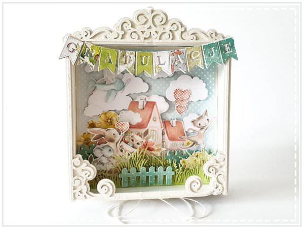 Kartka ręcznie robiona na Narodziny Dziecka 25