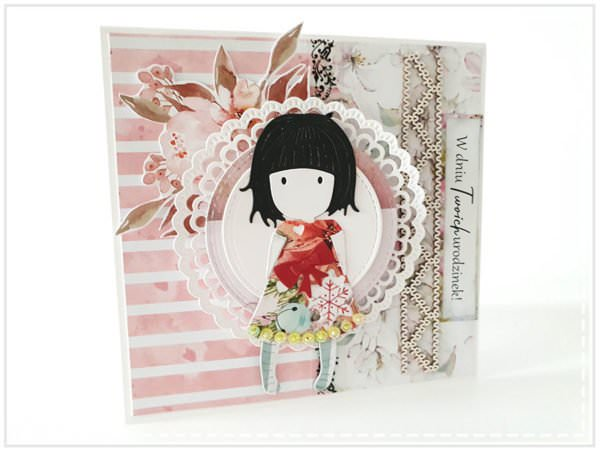 Kartka ręcznie robiona na urodziny dziecka 7
