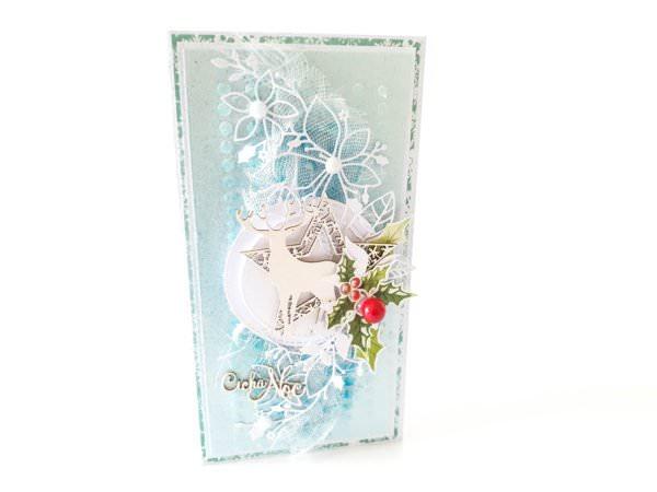 Kartka ręcznie robiona na Boże Narodzenie 50