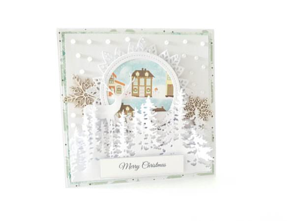 Kartka ręcznie robiona na Boże Narodzenie 37