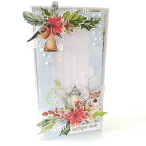 Kartka ręcznie robiona na Boże Narodzenie 41
