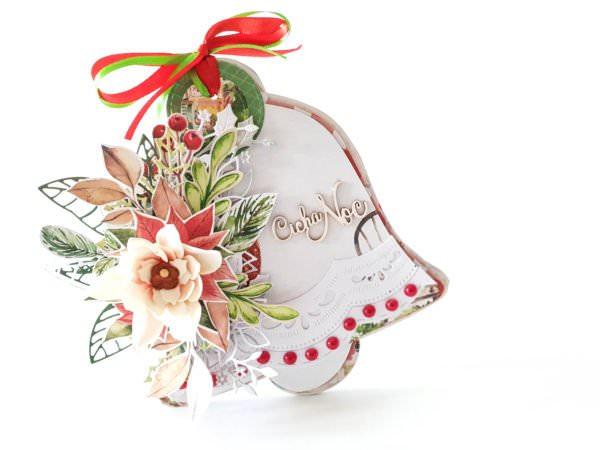 Kartka ręcznie robiona na Boże Narodzenie 26