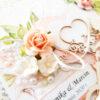 Kartka ręcznie robiona na ślub 24