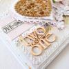 Kartka ręcznie robiona na ślub 1
