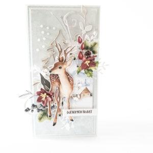 Kartka ręcznie robiona na Boże Narodzenie 49