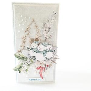 Kartka ręcznie robiona na Boże Narodzenie 32