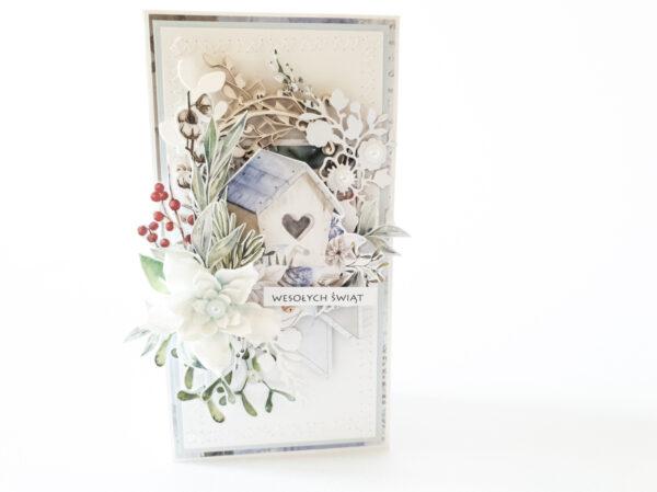 Kartka ręcznie robiona na Boże Narodzenie 12