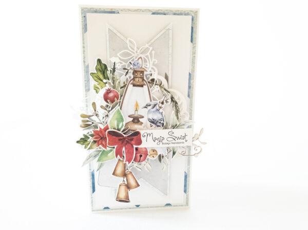 Kartka ręcznie robiona na Boże Narodzenie 16