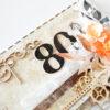Kartka ręcznie robiona na urodziny 88