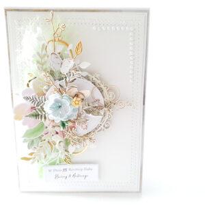 Kartka ręcznie robiona na rocznicę ślubu 4