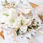 Kartka ręcznie robiona na ślub 28