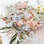 Kartka ręcznie robiona na ślub 21