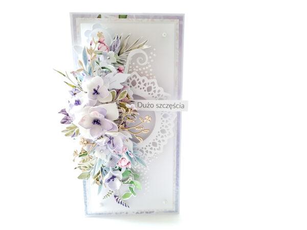 Kartka ręcznie robiona na ślub 5