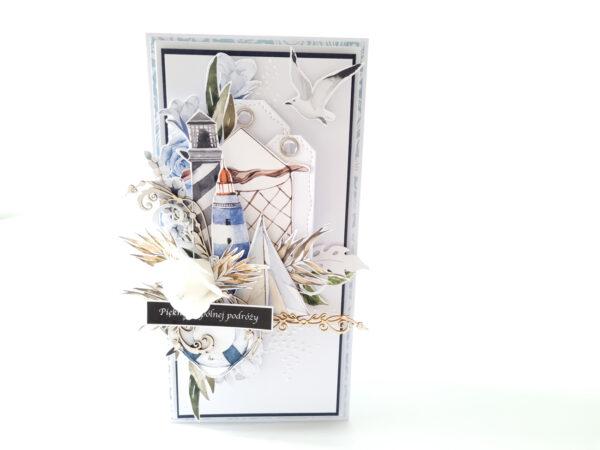 Kartka ręcznie robiona na ślub 47