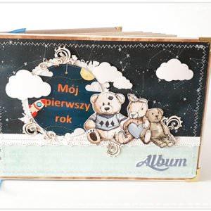Album ręcznie robiony na narodziny dziecka 11