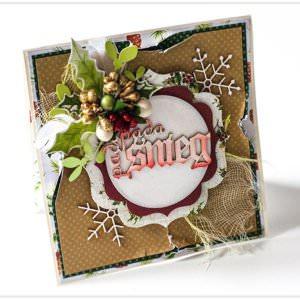 Kartka ręcznie robiona na Boże Narodzenie 36
