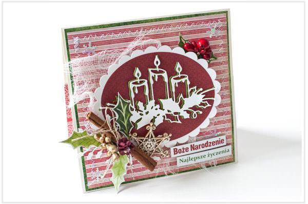 Kartka ręcznie robiona na Boże Narodzenie 6