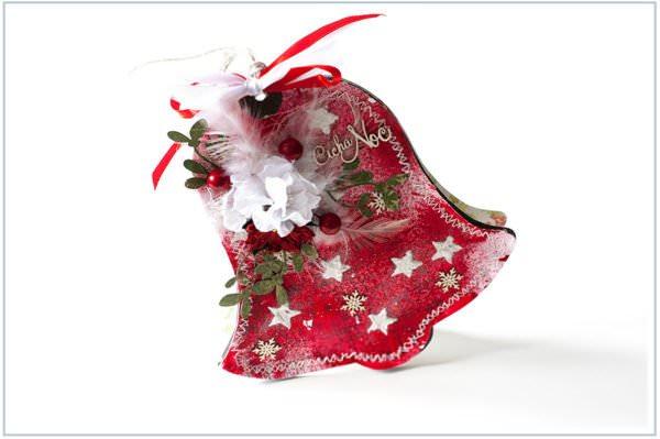 Kartka ręcznie robiona na Boże Narodzenie 2