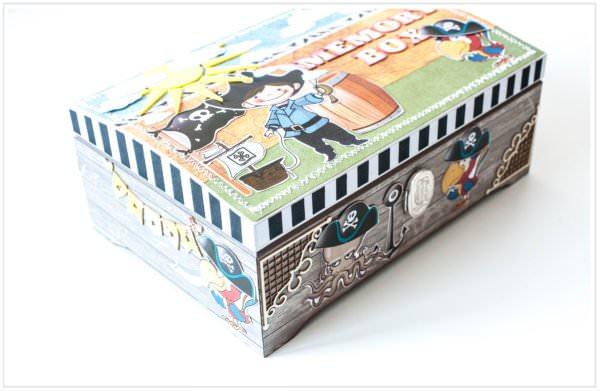 Pudełko ręcznie robione na urodziny 13