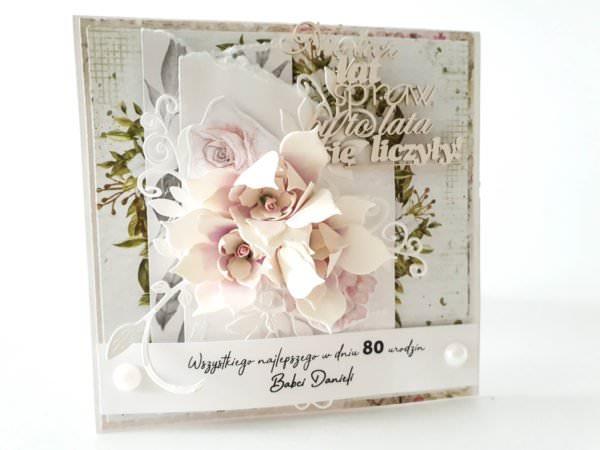 Kartka ręcznie robiona na urodziny 96