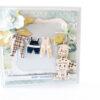 Kartka ręcznie robiona na narodziny dziecka 27
