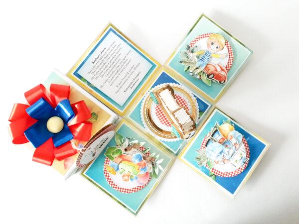 Pudełko ręcznie robione na urodziny 38