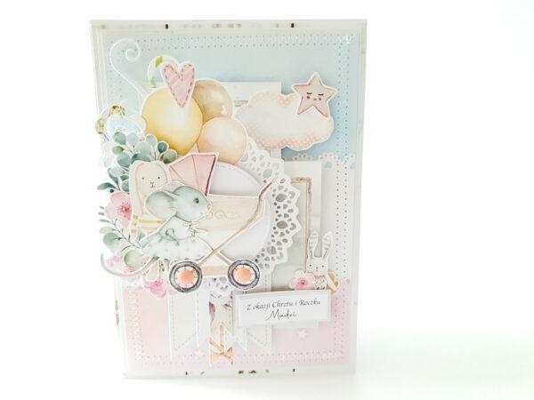 Kartka ręcznie robiona na urodziny dziecka 45