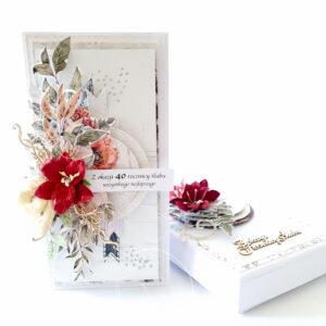 Kartka ręcznie robiona na rocznicę ślubu 28