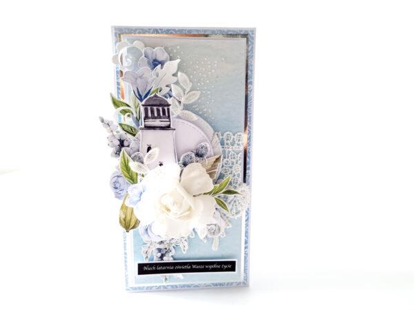 Kartka ręcznie robiona na ślub 100