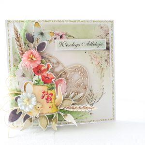 Kartka ręcznie robiona na Wielkanoc 50