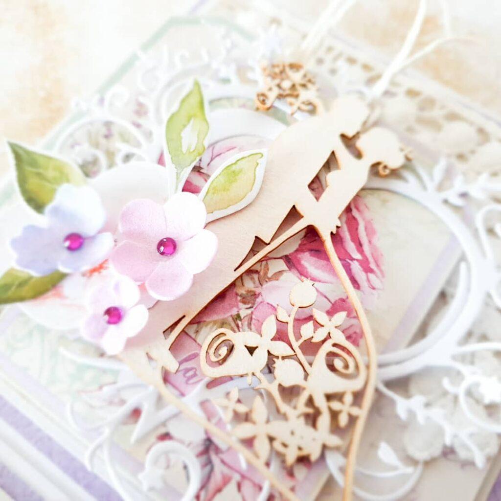 Pudełeczko ręcznie robione na ślub