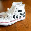 Malowane buty