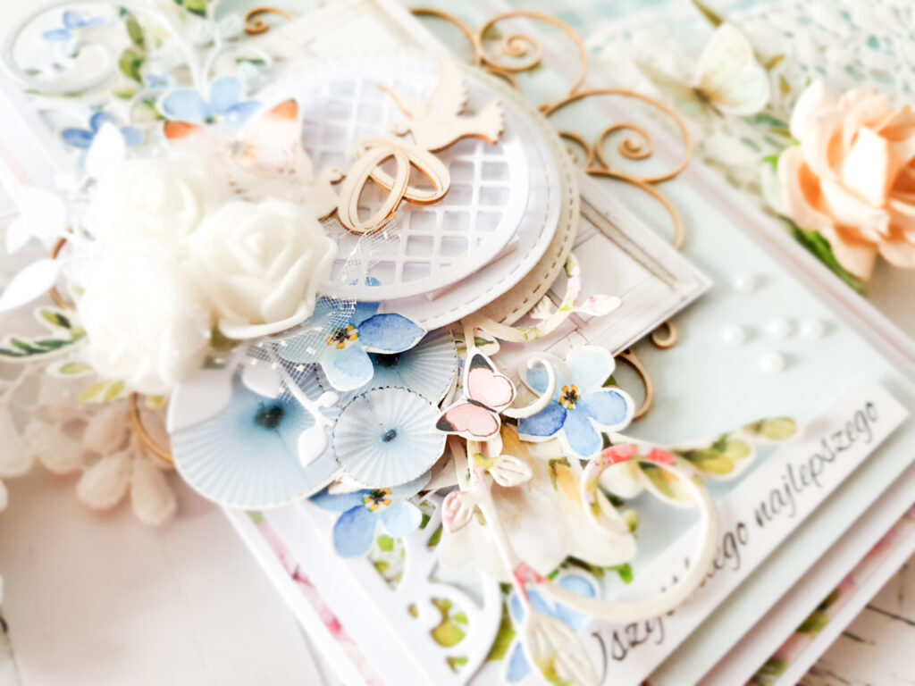 Karteczka ręcznie robiona na ślub
