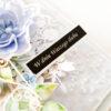 Kartka ręcznie robiona na ślub 108