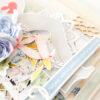 Kartka ręcznie robiona na narodziny dziecka 40